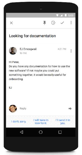 Google's 'Smart Reply' Will Suggest a Few Brief Email Responses