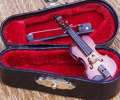 Miniaturized Musical Instruments