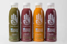 Seed-Based Protein Drinks - These Cold-Pressed Smoothies are Made from Nutrient-Rich Seeds