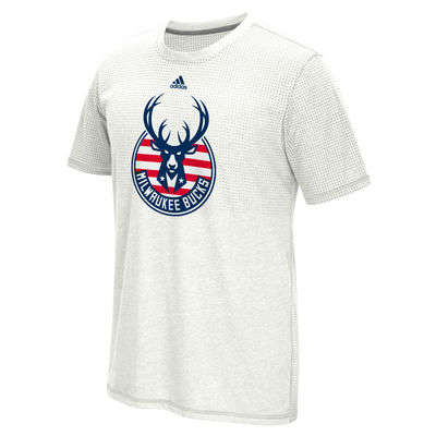 Military-Honoring Sports Apparel - The NBA's 'Hoops for Troops' Campaign Features Patriotic T-Shirts