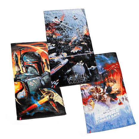 Sci-Fi Fandom Towels - These Star Wars Products Keep Super Fans Out of the Sand in Style