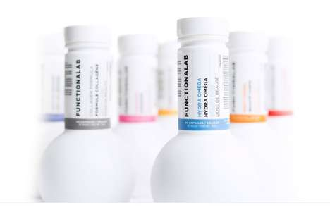 Nutritional Anti-Aging Beverages - Nutricosmetics is a Line of Cosmetic Supplements by Functionalab