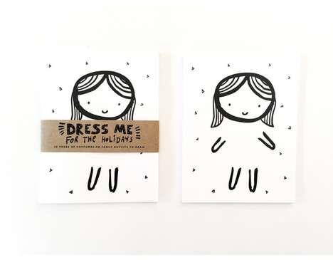 Doodling Dress-Up Notepads