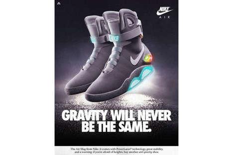 Modernized Retro Sneaker Ads