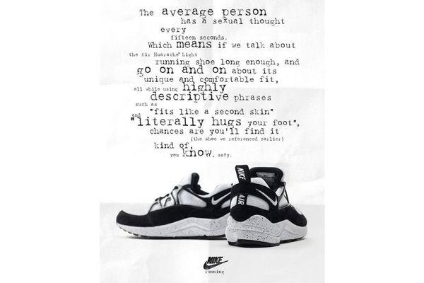 Modernized Retro Sneaker Ads Vintage Nike Ads