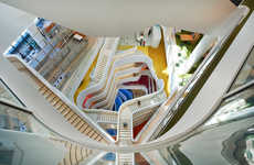 Whimsical Office Interiors - The 'Medibank Workplace' is Designed to Promote Health and Wellbeing