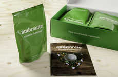 Drinkable Meal Replacements - Ambronite is an Organic Meal Alternative That One Can Drink