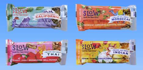 Exotic Meal Bars - These Meal Replacement Bars Boast Savory Flavors of the World
