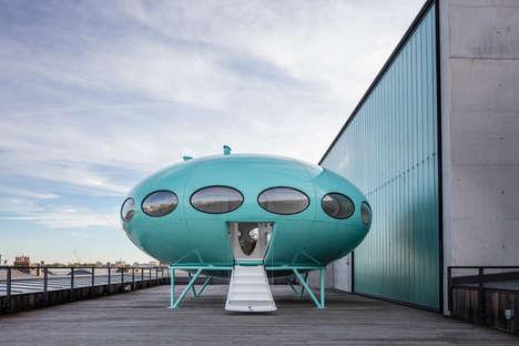 Flying Saucer Abodes