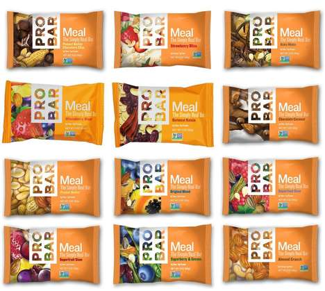 Nutrient-Dense Snack Bars - ProBar's MEAL Bars Supplement Breakfasts, Snacks and Desserts