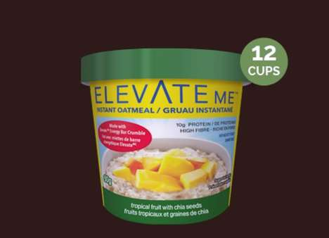 Energy-Boosting Oatmeal Snacks - Elevate Me's Single-Serve Oatmeal Packs are Healthy and Wheat-Free