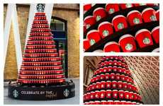 Coffee Cup Christmas Trees