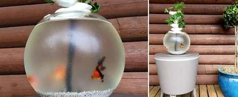 3D-Printed Aquaponics Systems