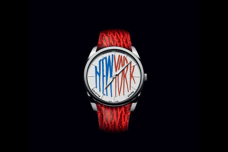 Elegantly Graffitied Watches
