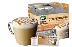 Cafe-Branded Coffee Pods - The Keurig Brand Recently Launched 'Green Mountain Coffee Coffeehouse'