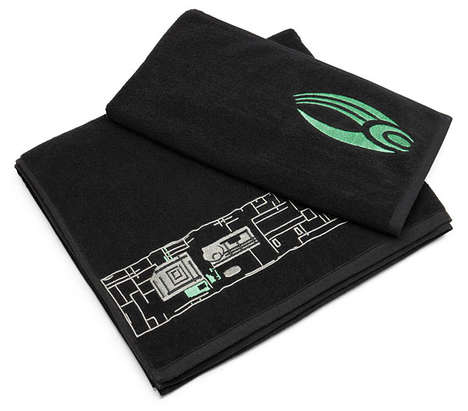 Geeky Alien Towels - These Star Trek Borg Bath Towels are Perfect for Fans of the Show