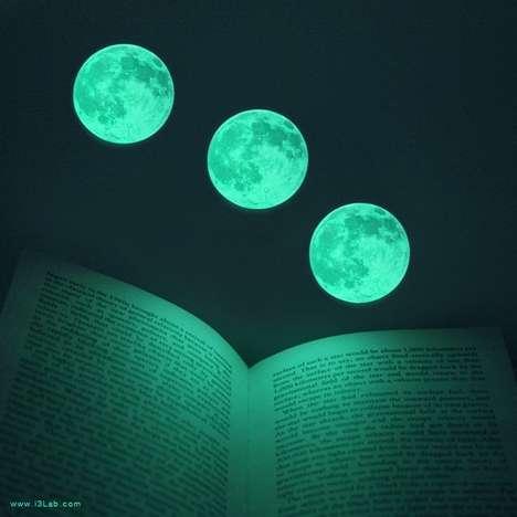 Glowing Celestial Stickers