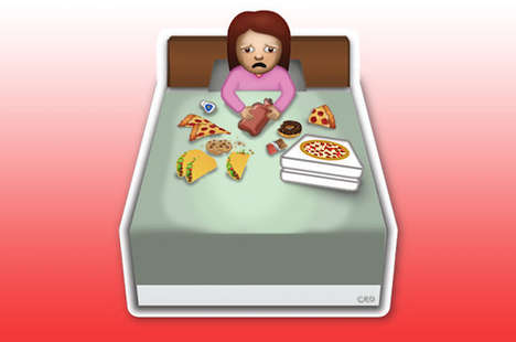 Conceptual Female Emojis - These Women Emoji Images Describe True Female Struggles