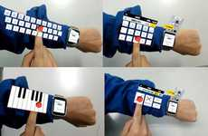 Virtual Arm Keyboards