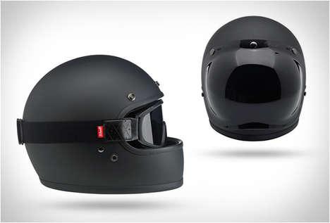70s-Inspired Bike Helmets