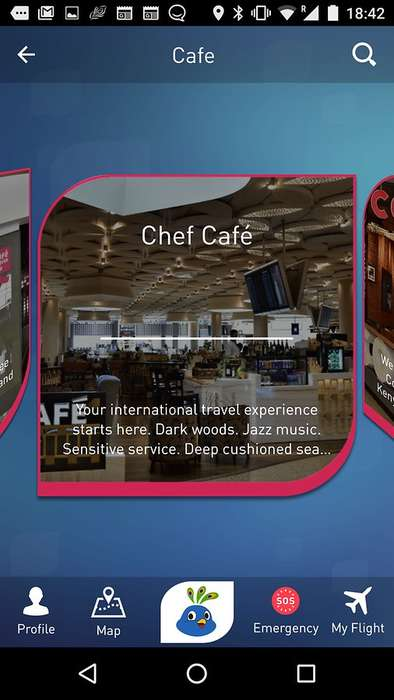 Augmented Reality Airport Apps