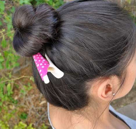 Handy Hairclip Pens - This Unique Pen Doubles as a Handy Hair Accessory