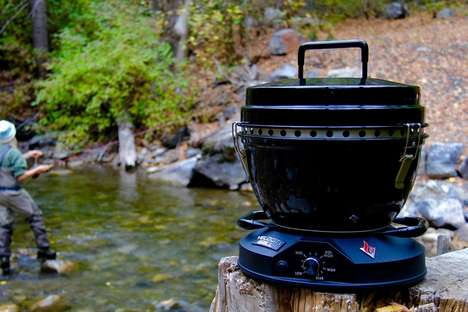 Quick Wood-Fired Grills
