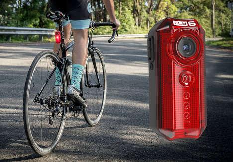 Cyclist Security Cameras