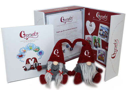 NFC-Enabled Gnome Toys