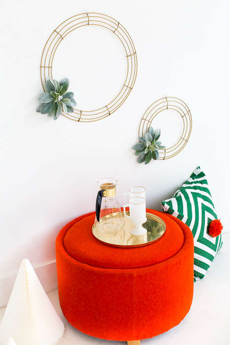 Geometric Homemade Wreaths