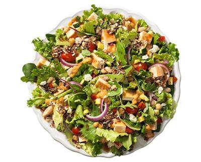 Protein Fast Food Salads