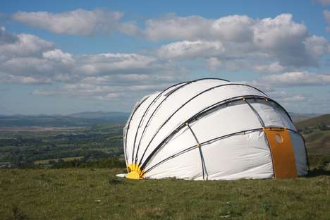 Mollusc-Inspired Tents