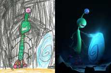 Reinterpreted Kids' Drawings