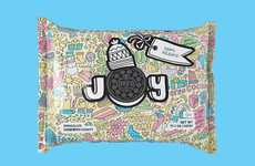 Customizable Cookie Packaging - Oreo's Holiday Packaging Lets Consumers Color It in & Send as Gifts