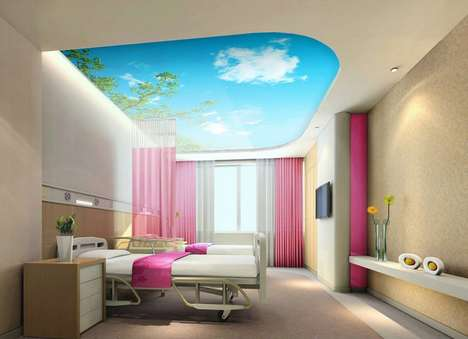 Artificial Skylight Windows - These Light Panels Recreate the Look of Natural Sunlight and Nature