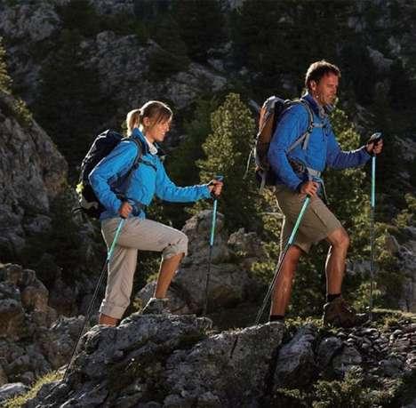 Fatigue-Deterring Walking Sticks