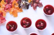 Cranberry Sauce Shooters