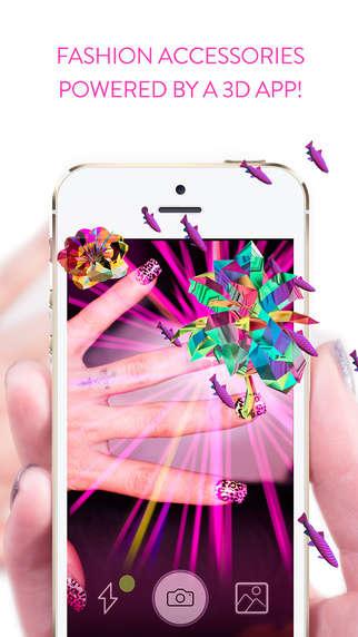 3D Hologram Manicures