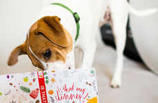 Scented Holiday Dog Books - This Scratch & Sniff Book for Dogs Gives Pets Their Own Reading Material