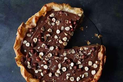 Decadent Chocolate Hazelnut Pies