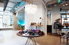 Parisian Sneaker Shops - The Sneakersnstuff France Location is an Elegant and Airy Boutique