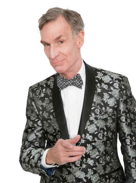 Scientist-Designed Bow Ties - The Bill Nye Bow Tie Collection is Patterned in Periodic Tables