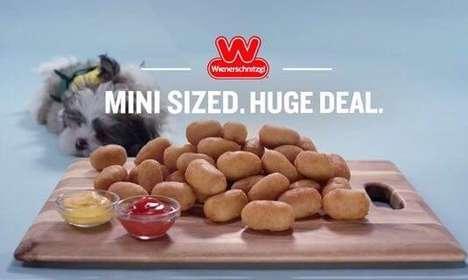 Miniature Corn Dog Dishes