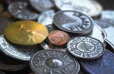 Realistic Fantasy Coins - These Coins are Based on Lord of the Rings and are Made from Real Metal