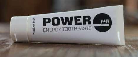 Energizing Caffeinated Toothpastes