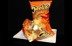 Bagged Ballpark Nachos - This Bag of Cheetos Acts a Convenient Vessel for a Casual Snack
