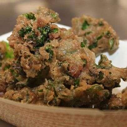 Deep-Fried Kale Clusters