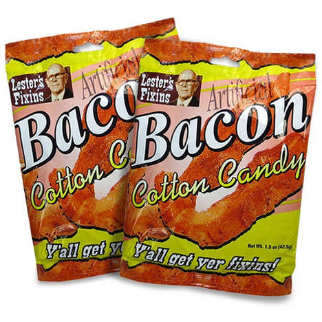 Bacon-Flavored Candy Floss