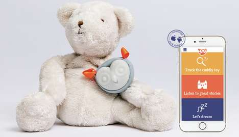 Smartphone-Connected Stuffed Animals - The Oliba Attachment Turns Any Toy into a Smart Object