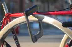 Fingerprint Recognition Bike Locks - 'Grasp' is a Durable, Quick-Release Biometric Lock for Cyclists
